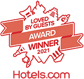 Hotels.com Loved by Guests Award Winner 2020